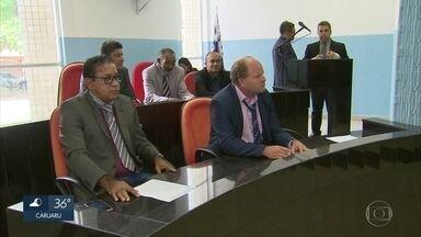 Vereadores de oposição tentam criar comissão para investigar prefeito do Cabo, Lula Cabral - Ele está preso por causa de uma ação da Polícia Federal que apura desvios em fundo previdenciário