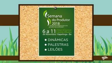Confira a agenda de eventos rurais que acontecem em toda a Bahia - Saiba também como divulgar informações no programa.