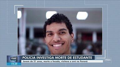 Polícia investiga morte de estudante encontrado esfaqueado em Cascavel - Polícia investiga morte de estudante encontrado esfaqueado em Cascavel