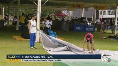 River Games é a atração do fim de semana em Foz do Iguaçu - O evento começa às 9h.