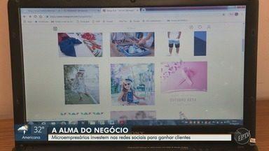 Microempresários investem nas redes sociais para ganhar clientes em Campinas - Estratégias facilitam as vendas, segundo os comerciantes.