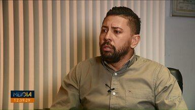 Empresário que confessou ter matado jogador já tinha passagens pela polícia - Ele já tinha passagem por porte ilegal de arma de fogo. Ele confessou ter matado o jogador Daniel Freitas.