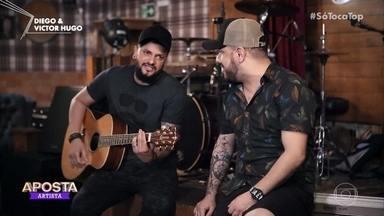 Diego e Victor Hugo falam sobre a carreira - Dupla é a aposta da semana e comemora sucesso na música sertaneja