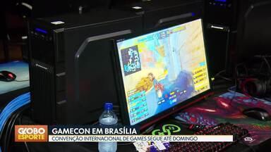 GAMECON em Brasília - Visitamos a GAMECON, convenção internacional de games que segue na cidade até domingo