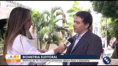 TRE do Pará começa cadastramento de biometria em mais 36 municípios - Veja lista de municípios.