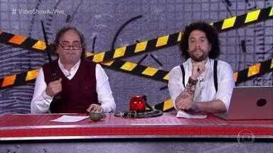'Patrulha Vídeo Show' denuncia os crimes de 'Segundo Sol' - Tony Granada e Claudio Pombas denunciam os vilões das novelas e garantem que seus não passarão impunes