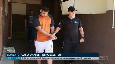 Polícia ouve mais dois suspeitos de envolvimento na morte do jogador Daniel - Edison Brittes é suspeito da morte do jogador; corpo de Daniel Correa foi encontrado com sinais de tortura em um matagal na área rural de São José dos Pinhais, na Região Metropolitana de Curitiba.