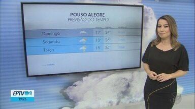 Confira a previsão do tempo para este domingo (11) no Sul de Minas - Confira a previsão do tempo para este domingo (11) no Sul de Minas