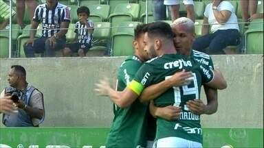 Palmeiras empata com Atlético-MG e fica perto do título - Palmeiras empata com Atlético-MG e fica perto do título
