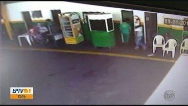 Posto de combustíveis é assaltado em Passos (MG) - Posto de combustíveis é assaltado em Passos (MG)