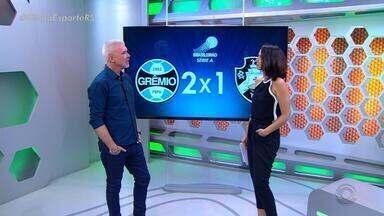 Maurício Saraiva comenta a vitória do Grêmio - Assista ao vídeo.