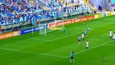 Grêmio vence de virada o Vasco com gol nos acréscimos - Com falha do goleiro Martín Silva, o jogador do Grêmio Matheus Henrique fez o gol da vitória.