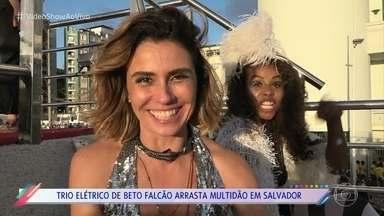 Elenco se contagia com o clima de carnaval de 'Segundo Sol' - Confira as gravações das cenas finais da novela das nove