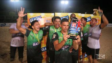 Pinheiro é campeão da segunda etapa do Campeonato Maranhense de futebol de areia - Pinheiro e Santa Helena garantem vaga na fase final do Estadual