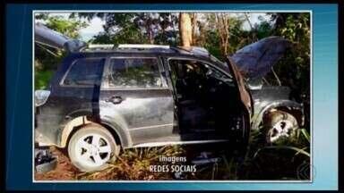 Secretário de Lagoa da Prata sofre acidente ao voltar de velório em Carmo do Cajuru - Acidente foi na MG-428. Velório era o da secretária de Saúde de Formiga.