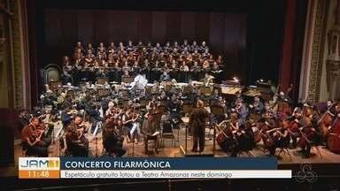 Concertos lotam Teatro Amazonas - Espetáculos gratuitos foram oferecidos a população.