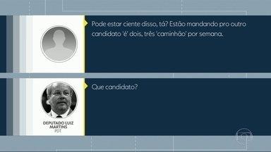 Gravações mostram que deputados da Alerj compravam votos com 'água' - Segundo a investigação, carros-pipa da Cedae eram usados como moeda de troca em campanhas eleitorais.