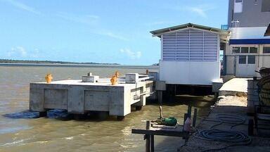 Terminal pesqueiro de Aracaju ainda não tem previsão de início das atividades - Obras estão quase concluídas.