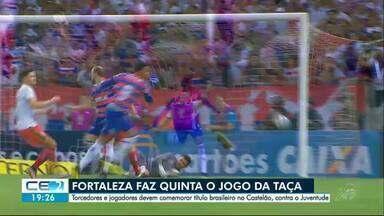 Campeão da Série B, Fortaleza faz 'jogo da taça' na quinta-feira - Confira mais notícias em g1.globo.com/ce