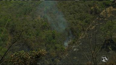 Incêndio é registrado na Serra dos Cavalos em Caruaru - Caso aconteceu no domingo (11).