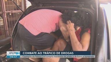 Polícia Civil do Amapá cumpre mandados de prisão para combater tráfico de drogas - Operação 'Anjos da Lei' foi deflagrada na manhã desta terça-feira (13), em todo o país.