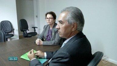 Reinaldo Azambuja participa de encontro de governadores com presidente eleito - É um encontro para aproximar os gestores e discutir um novo pacto federativo.