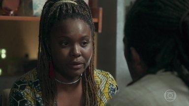 Talíssia desiste do casamento com Vinícius - Ela explica que não quer se casar apressadamente só por resolver um problema jurídico. Vinícius fica decepcionado, mas diz que entende a decisão da amada