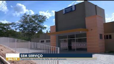 Moradores do povoado Santa Teresa reclamam de abandono em posto de saúde - Moradores do povoado Santa Teresa reclamam de abandono em posto de saúde