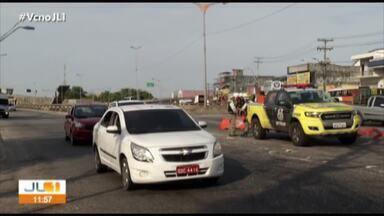 Detran inicia operação de organização do trânsito na rodovia BR-316 - Órgão promoveu mudanças no trânsito para o feriado