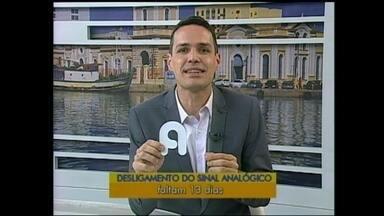 Faltam 13 dias para o desligamento do sinal analógico de televisão - Sinal analógico deixa de existir em Rio Grande e em São José do Norte no dia 28 de novembro.