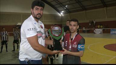 Philipéia vence 2ª divisão da Liga Paraibana de Futebol - Final aconteceu no Ginásio Odilon Ribeiro Coutinho, no Valentina