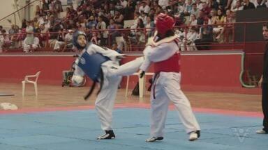 Santos recebe torneio de Taekwondo - Competição foi disputada no Clube Internacional de Regatas.
