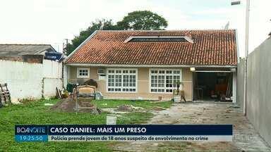 Polícia prende mais um suspeito de estar envolvido na morte do jogador Daniel - É um jovem de 18 anos que estava na festa da família Brittes.