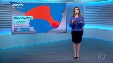 Veja a previsão do tempo para esta sexta-feira - Tem uma frente fria a caminho do Rio de Janeiro e de Minas Gerais.Confira também em que regiões do país terá tempo firme.
