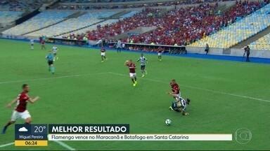 Flamengo e Botafogo vencem adversários - Notícia pro Vasco não é boa: Ramon, capirão do time nas últimas rodadas, se machucou contra o Atlético Paranaense, em casa.