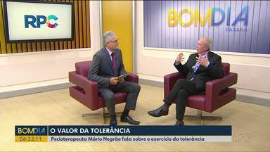 Psicoterapeuta Mário Negrão fala sobre tolerância - Hoje é Dia Internacional da Tolerância.