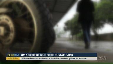 Vítimas de carros roubados e furtados caem em golpes na internet - Veja dicas para não ser enganado.