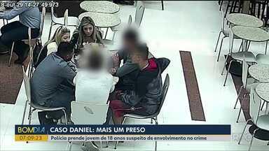 Polícia prende mais um suspeito de envolvimento na morte do jogador Daniel - Esse é o sétimo suspeito preso.