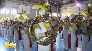 Banda Master de São Sebastião pede ajuda para participar de campeonato nacional - Faltam recursos estimados em 150 mil reais. A banda é formada por estudantes de 9 a 18 anos que treinam seis horas por semana.
