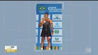 Piauiense conquista medalha de ouro no ciclismo - Piauiense conquista medalha de ouro no ciclismo