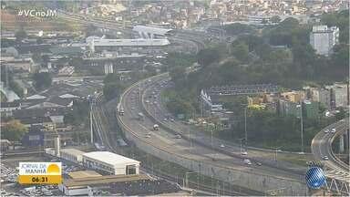 Radar: saiba como está o trânsito em vários pontos de Salvador nesta sexta (16) - Movimento é tranquilo nas principais avenidas da capital baiana.