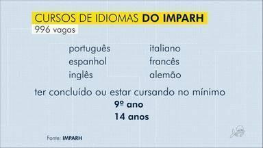Imparh oferece cursos de idiomas - São 996 vagas para turmas de 6 idiomas. Para participar é preciso ter concluído o ensino fundamental