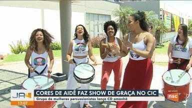 Grupo Cores de Aidê faz show de graça no CIC em Florianópolis - Grupo Cores de Aidê faz show de graça no CIC em Florianópolis