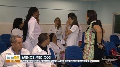 Mais de 200 médicos cubanos deixam o ES até o fim do ano - Cuba decidiu deixar programa Mais Médicos.