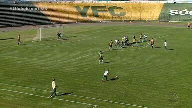 Confira os resultados dos jogos de ida da semifinal da Copa FGF - Gaúcho de Passo Fundo vence o Ypiranga; enquanto São José e Avenida ficam no empate.