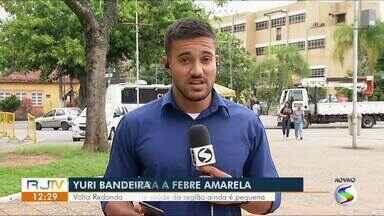 Estado do Rio intensifica campanha de vacinação contra febre amarela - Meta é imunizar 95% da população.