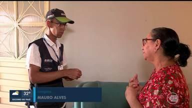 Número de funcionários do IBGE sofre redução no Piauí - Número de funcionários do IBGE sofre redução no Piauí