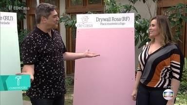 Conheça as vantagens de usar drywall na construção de paredes - Quem explica é a engenheira civil Iza Valadão