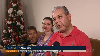 Famílias reforçam os ensaios para a cantata do Natal RPC - 400 crianças vão participar da apresentação no próximo dia 28 de novembro.