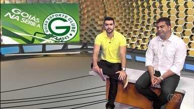 Presidente do Goiás fala sobre acesso e dos planos para disputar a Série A - Torcedores perguntaram se time vai estar na disputa na parte de cima da tabela ou briga para não cair.